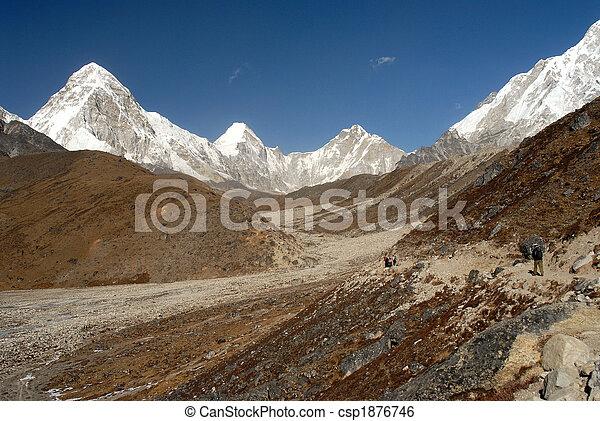 valle, khumbu - csp1876746