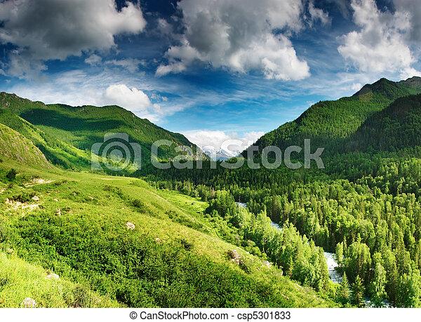 valle montagna - csp5301833