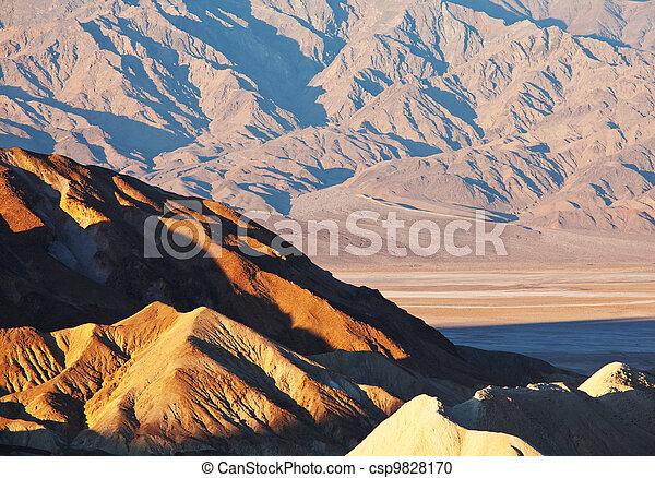 valle morte - csp9828170