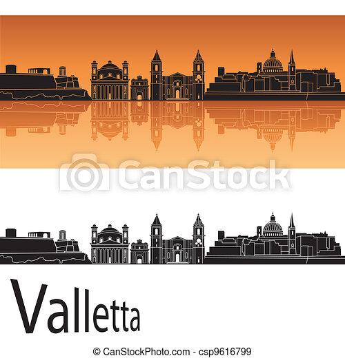 Valletta skyline - csp9616799