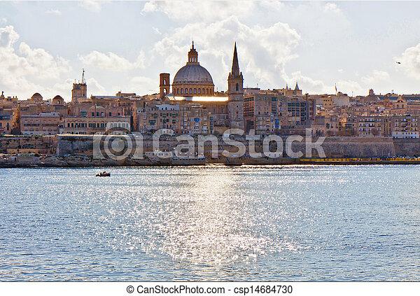 Valletta view - csp14684730