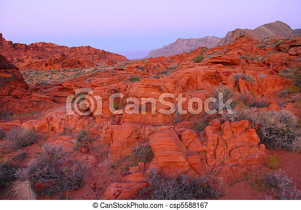 Valley of Fire State Park - Nevada - csp5588167