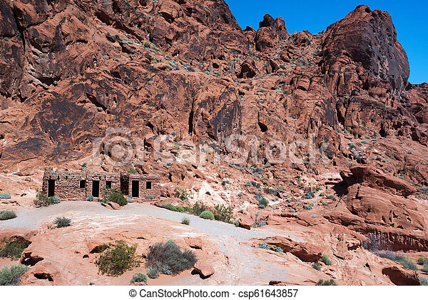 Valley of Fire - csp61643857