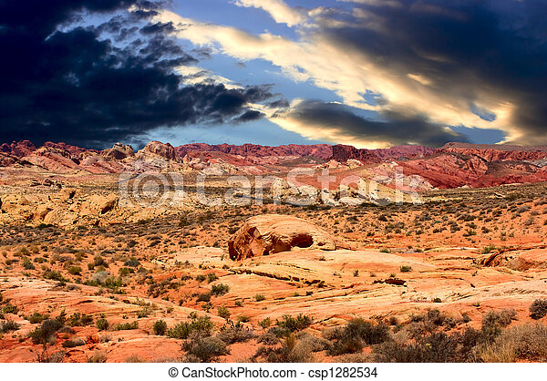 Valley of Fire - csp1282534