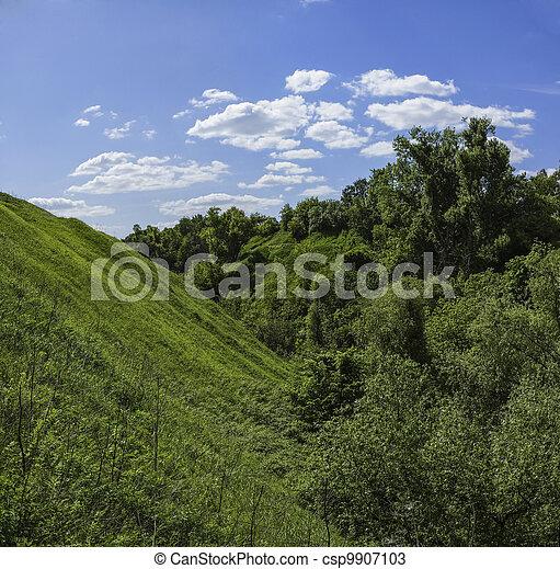 valley. - csp9907103