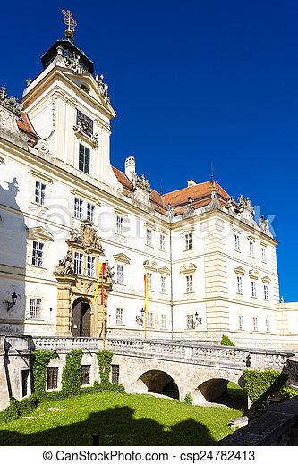 Valtice Palace, Czech Republic - csp24782413