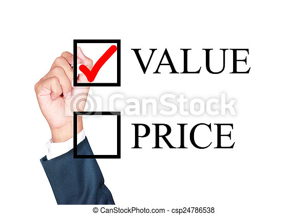 value is what i choose - csp24786538