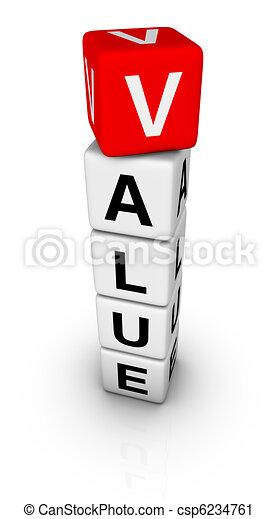 value sign - csp6234761