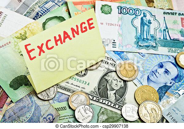 valuta, excange - csp29907138