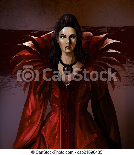 Vampire bloody countess