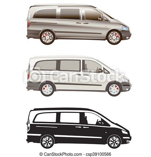 Van set commercial vehicle blueprint drawing proection clip van set commercial vehicle blueprint drawing proection all view bus malvernweather Image collections