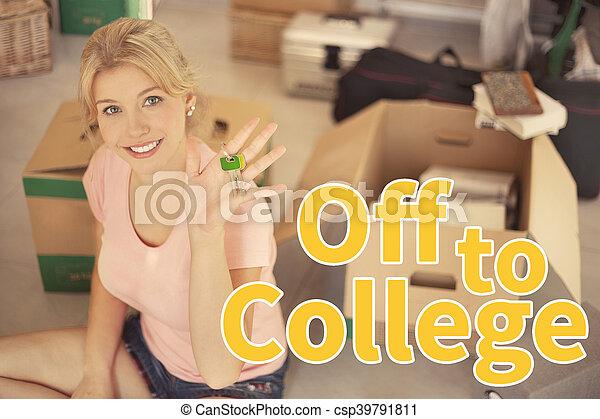 van, universiteit - csp39791811