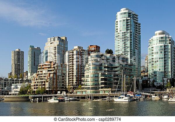 Vancouver downtown - csp0289774