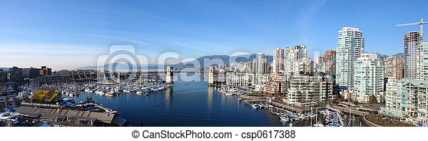 Vancouver Panoramic - csp0617388