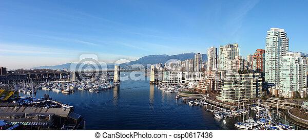 Vancouver Panoramic - csp0617436