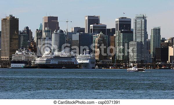 vancouver, porto - csp0371391