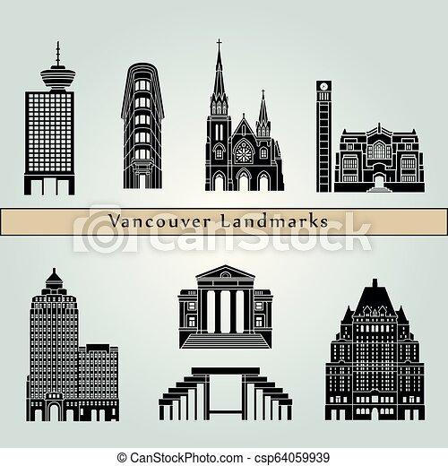 Vancouver V2 Landmarks - csp64059939