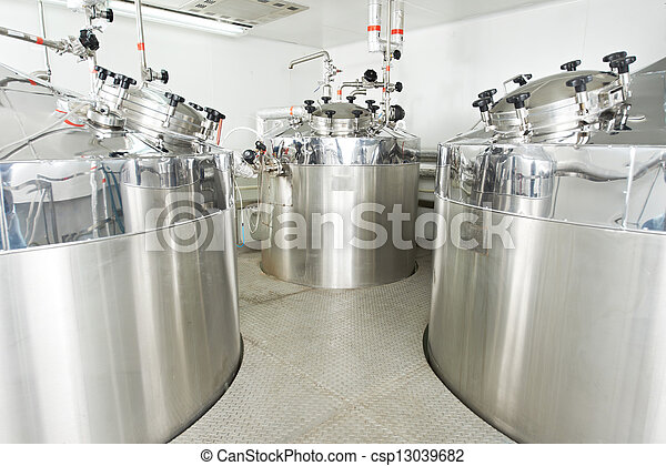 vand, farmaceutisk, behandling, system - csp13039682