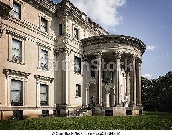 Vanderbilt Mansion - csp21384382