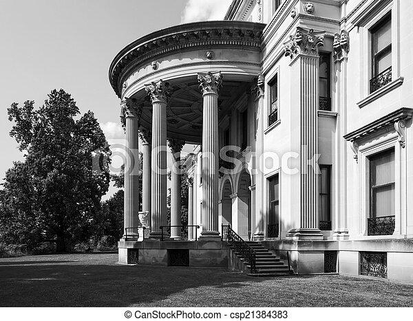 Vanderbilt Mansion - csp21384383