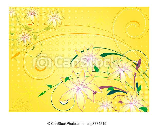 vanilla5, fleurs - csp3774519