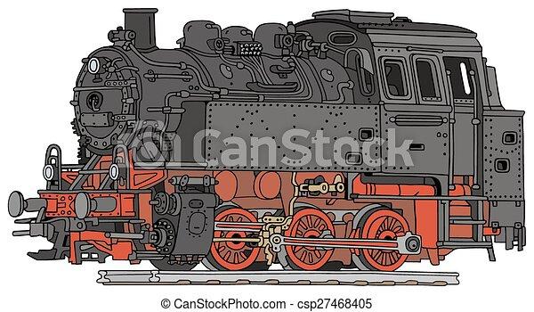 vapor, locomotiva - csp27468405