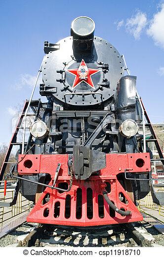 vapor, locomotiva - csp11918710