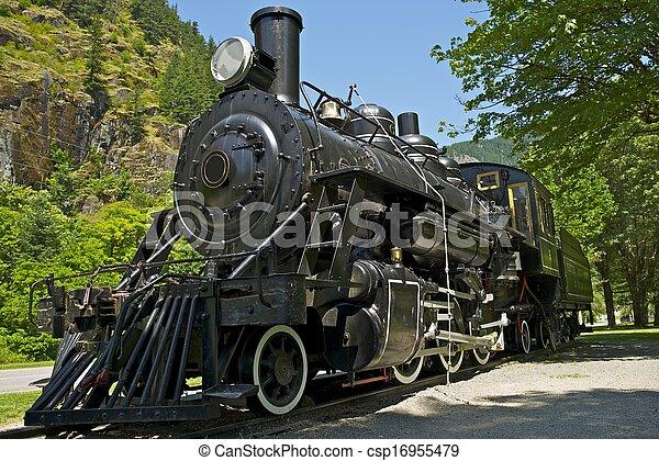 vapor, locomotiva - csp16955479