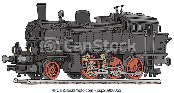 vapor, locomotiva - csp26986053