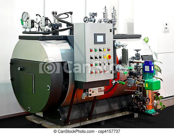 vapore, industriale, caldaia - csp4157737