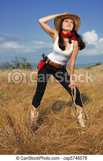 Hermoso vaquera sombrero vaquero imgenes Buscar fotografas y