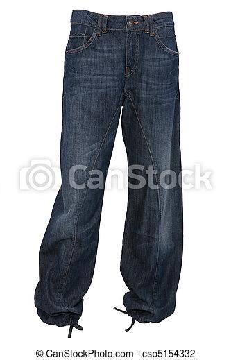 Pantalones Vaqueros Pantalones De Vaqueros Aislados En Blanco Canstock