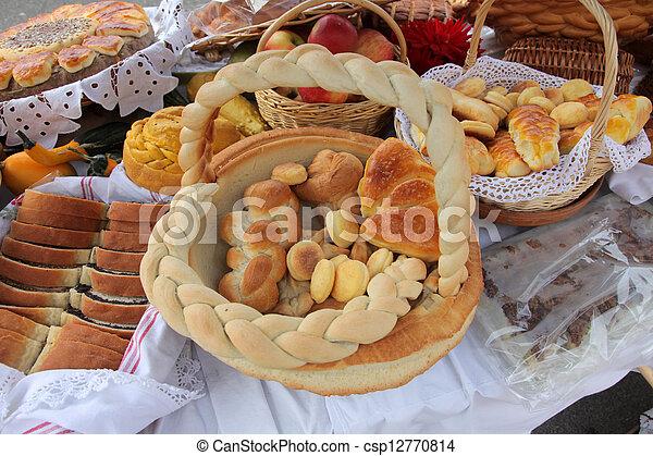 Variety of bread - csp12770814