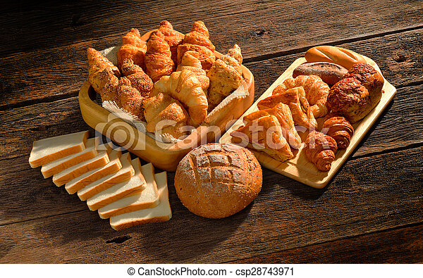 Variety of bread - csp28743971
