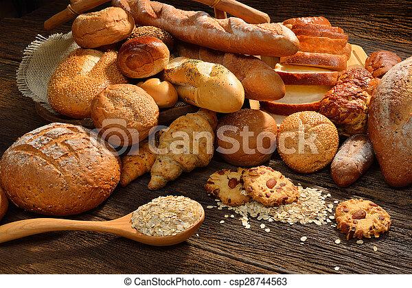 Variety of bread - csp28744563