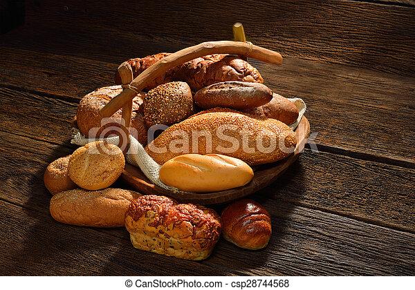 Variety of bread - csp28744568