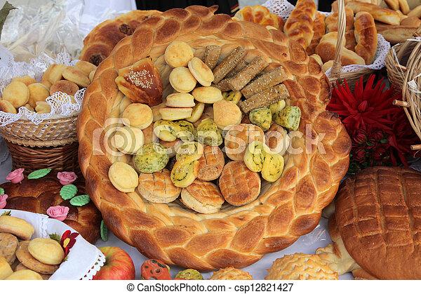 Variety of bread - csp12821427