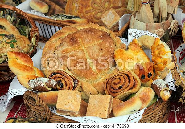 Variety of bread - csp14170690