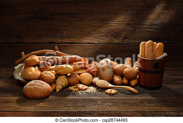 Variety of bread - csp28744493