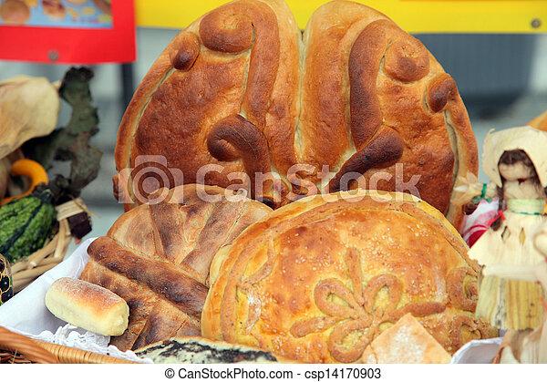 Variety of bread - csp14170903