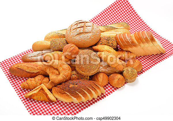 Variety of bread - csp49902304