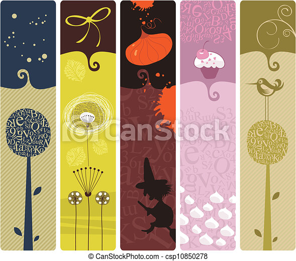 Various Bookmarks - csp10850278