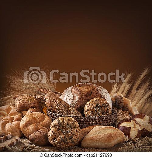 Various bread - csp21127690