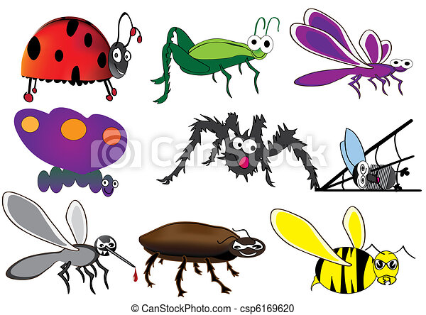 Cute insect drawing - photo#40
