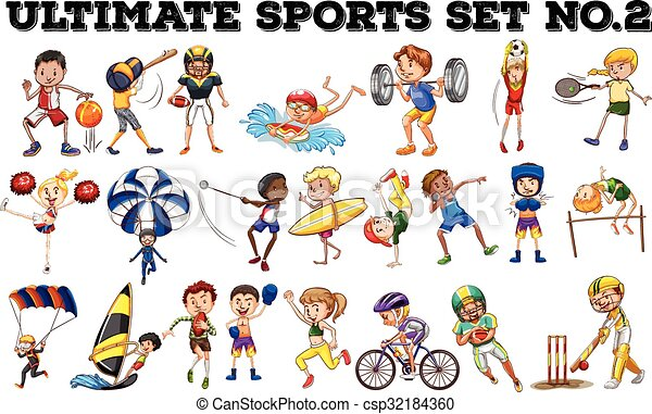 Various kind of sports - csp32184360