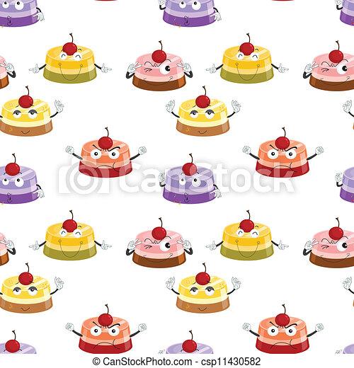 various moods of cake - csp11430582