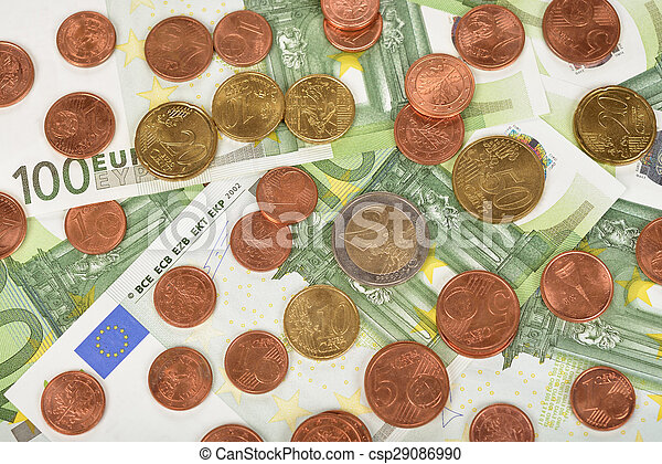 Various of coins and banknotes - csp29086990