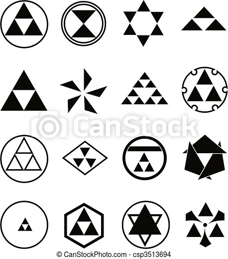 various religious symbols - csp3513694