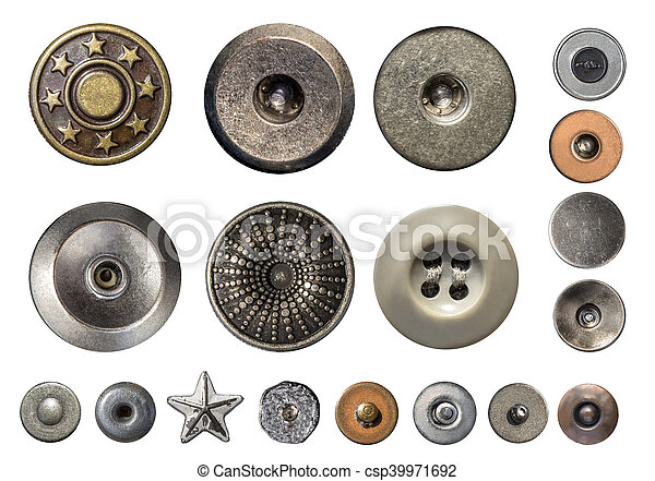 Various sewing buttons - csp39971692
