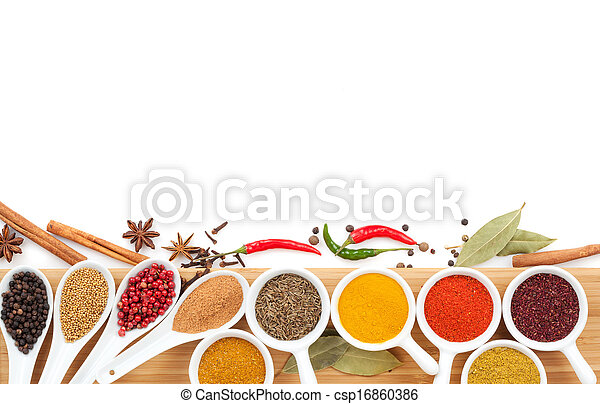 Various spices selection - csp16860386